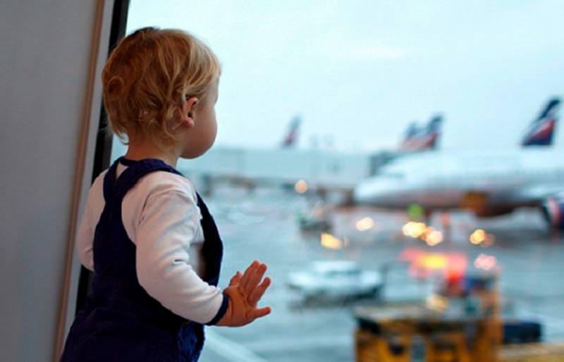 viajar con un bebe