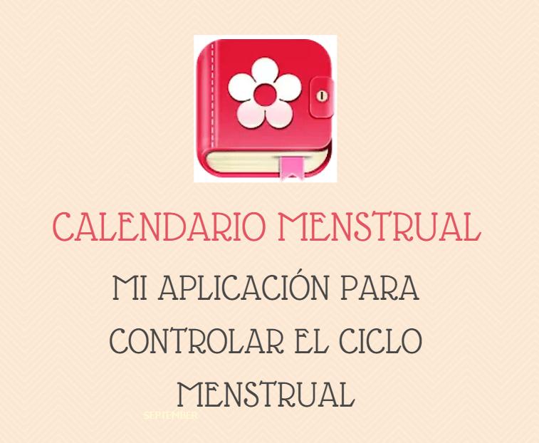 app calendario menstrual
