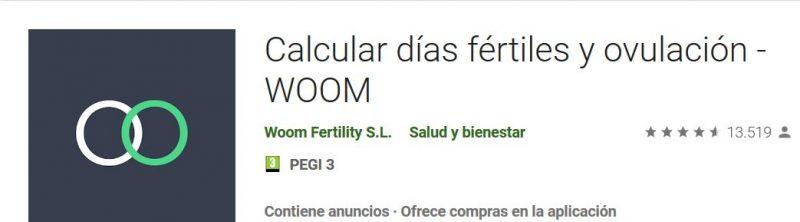woom app como quedarte embarazada