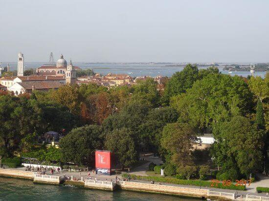 Giardini della Biennale venecia parques infantiles