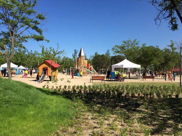 parque de la ciudad de los niños getafe