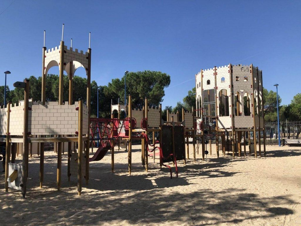 parque el castillo leganes