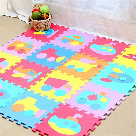 alfombras infantiles espuma