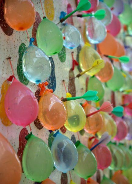 juegos con globos al aire libre