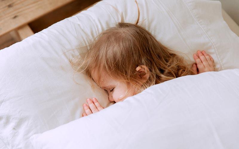 la siesta en los bebes y ninos